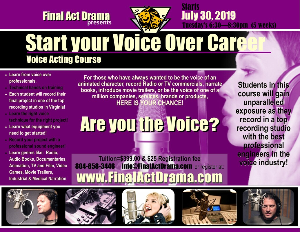 Voice Over Training with Final Act Drama - Final Act Drama
